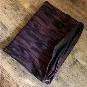 lululemon athletica Accessories - NWOT lululemon vinyasa scarf purple camo